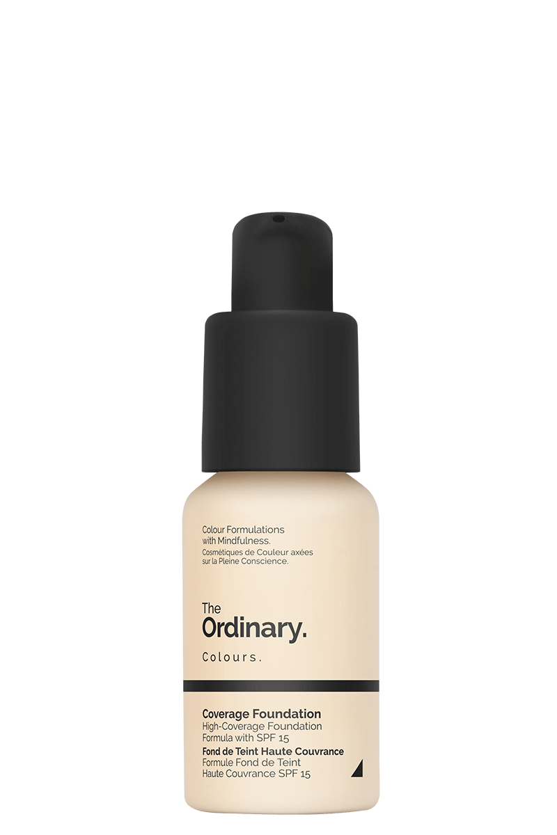 Coverage Foundation (1.0 N)  SPF - 30ml