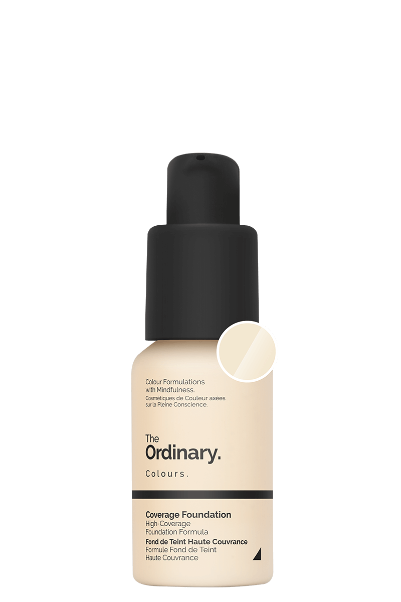Coverage Foundation (1.0 NS) - 30ml